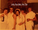 Toga Party Participants, Deca Convention, 1980